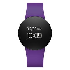 Men's Watch Bluetooth Touch Screen Smart Bracelet Sport Smartwatch Pedometer Fitness Tracker Watch purple 0.66 inches