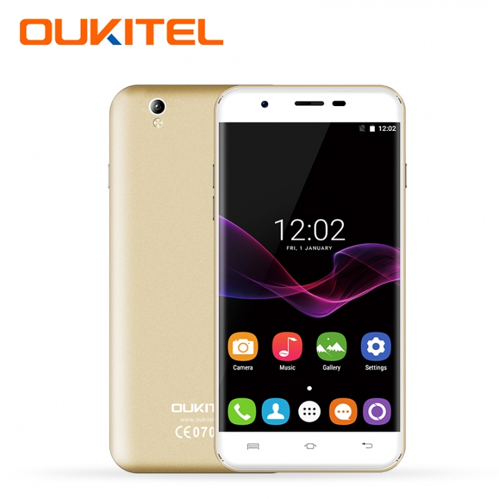 "OUKITEL U7 Max, 1+8GB, 2500mAh, 5.5"" HD, 2.5D Polished Screen, 13+5MP,  Define Elegance,Smart phone Gold"