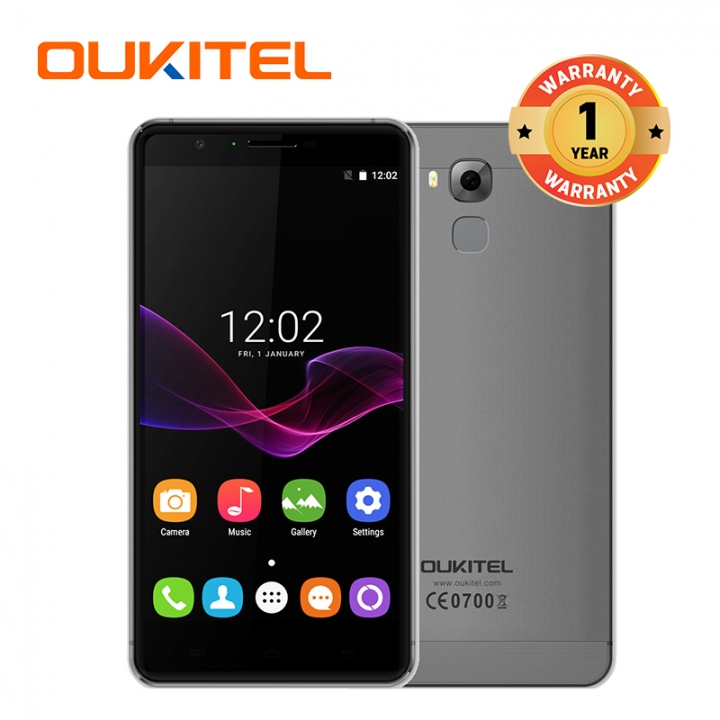 "OUKITEL U16 Max, 3+32GB, 4000mAh, 6.0""HD, 5+13MP, Dual Sim Dual Standby, Fingerprint , Smart phone grey"