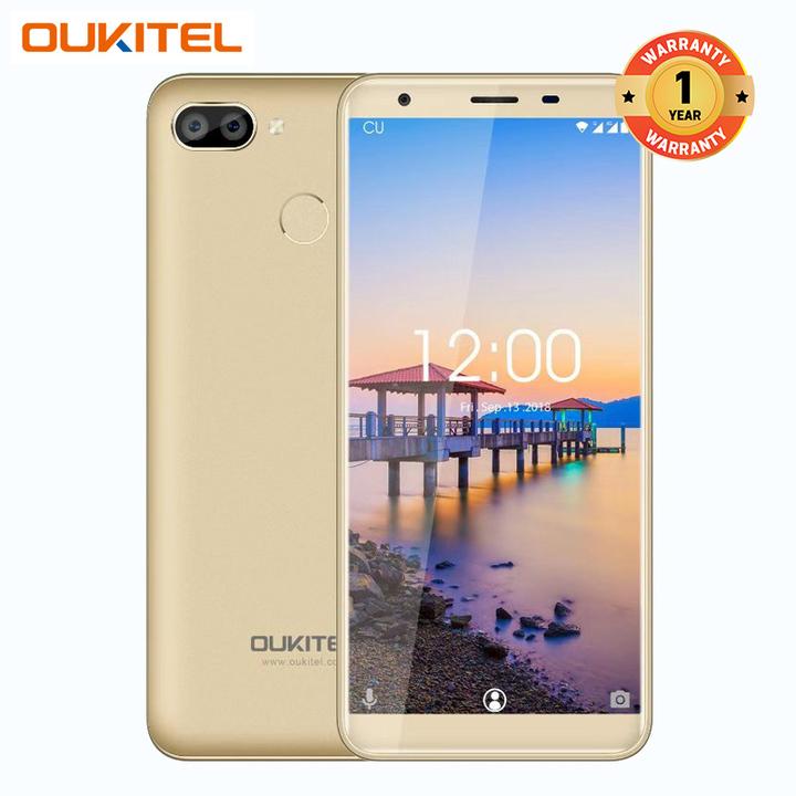 "OUKITEL C11 Pro, 3GB+16GB, 5.5"", 3400mAh, Fingerprint, 4G Smartphone gold"