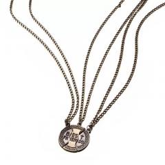 5 pcs Best friend Necklace as picture one size