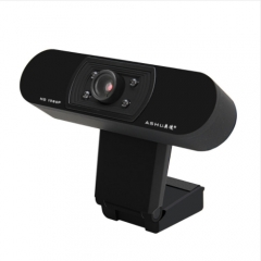Webcam 1080P, HDWeb Camera with Built-in HD Microphone USB Plug n Play Web Cam, Widescreen Video black one size