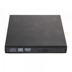 Portable External CD DVD DVDRW Slim 8x DL USB DVD Writer External DVD Burner Drive for PC Laptop black one size