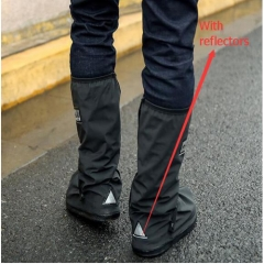 Wholesale With Waterproof reusable Motorcycle Cycling Bike Rain Boot Shoes Covers For Rider Black s