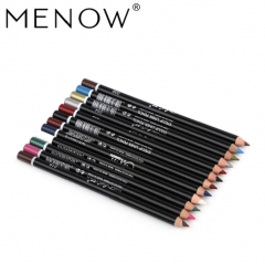 MENOW 12-color/set eyeliner pen eye shadow brush lip-eyebrow pencil 01#