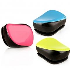 Antistatic massage comb hairdressing comb magic comb portable comb orange free size