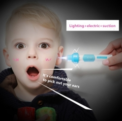 New electric ear scoop Luminous earwax spoon Children's ear cutters  Babies pick ear tools visual as picture 13*6*3.5cm