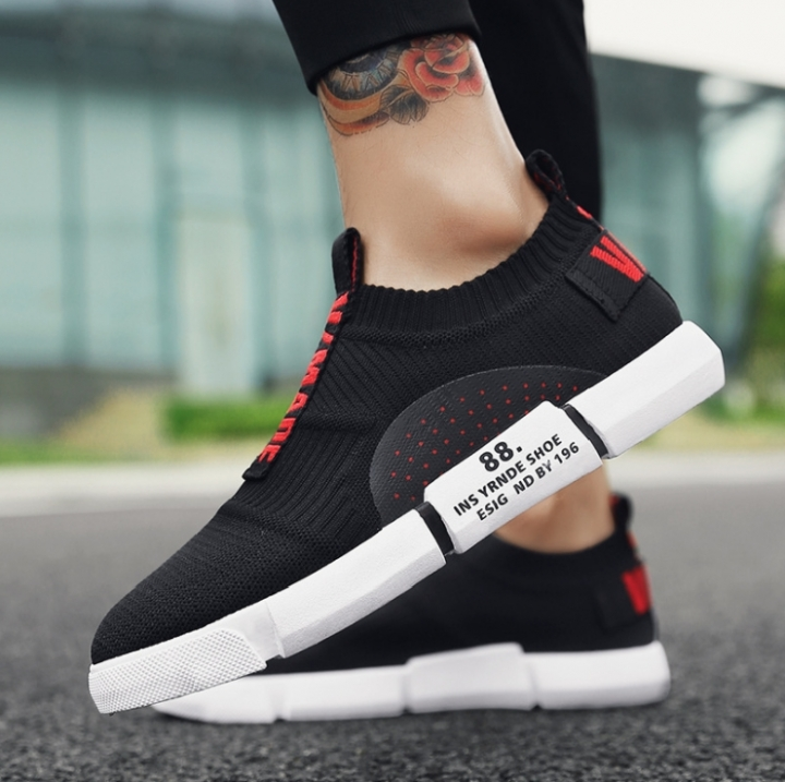 6e247998addf New sports shoes for spring and summer Breathable trendy men s shoes low  top shoes Joker tide