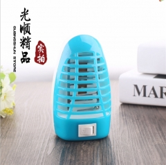 Photocatalyst household LED anti - mosquito lamp night lamp Insect repellent lamp with switch random 12*7