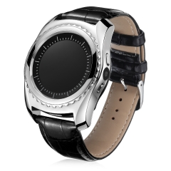 Smartwatch Bluetooth TQ912 Phone Heart Rate Blood Pressure Waterproof Support SIM  IOS Android Silvery one size