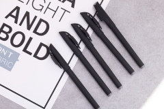 1 PC Office Pen Gel Pen Black Refill Plastic Shell for students Office