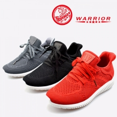 WARRIOR Women's Shoes Fashion flats Sneakers Causal Female Air mesh lady shoes 35-40 Black 35