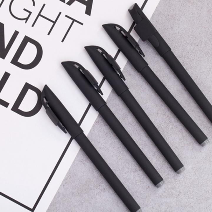 1 PCS Office Pen Gel Pen Black Refill Plastic Shell for Students Office School
