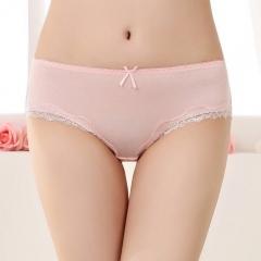 10 pcs / set Seamless Ice Silk Panties Women Underwear Lingerie 10 Color Always as a color one size