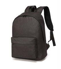 Canvas Backpack Travel Bag Female Student Bag Outdoor Casual Male Backpack black