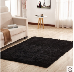 Fluffy Soft and Tender Carpet - Black 5*7