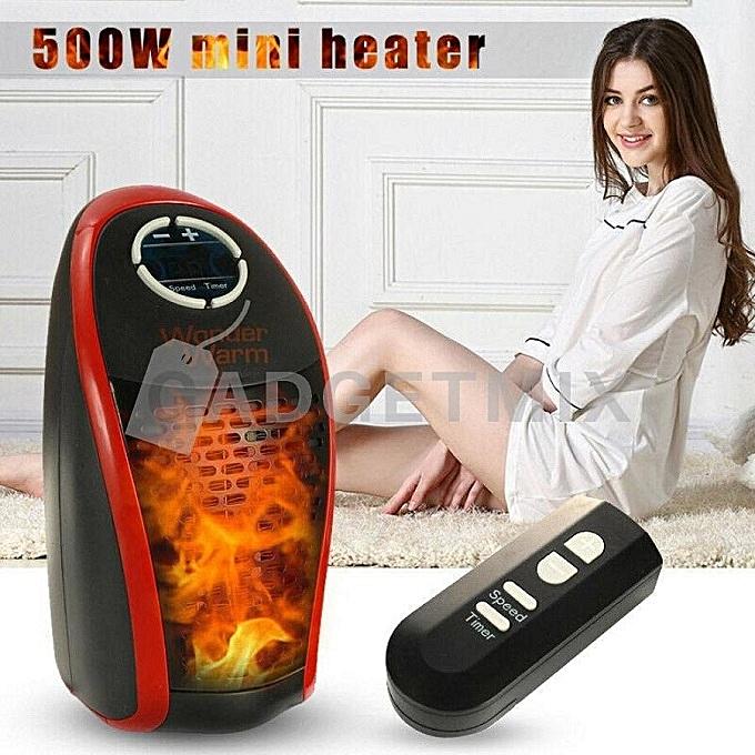 Wonder Warm Room Heater House/ Office Warmer Heater Black 1