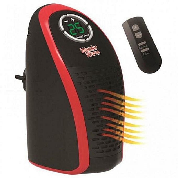 Wonder Warm Room Heater House/ Office Warmer Heater Black 2