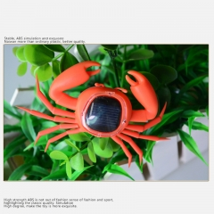 New Solar Toys Crab Simulation Tricky Science Enlightenment Puzzle Creative Toys Gifts Orange normal