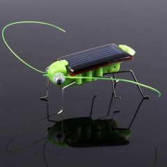 Solar Grasshopper Simulation Insect Creative Tricky Science Enlightenment Educational Children Toys Green normal