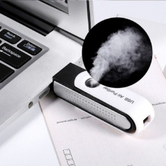USB Ionizer Ionic Air Purifier black+white normal