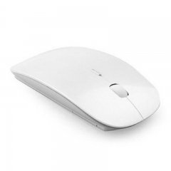 Ultra Thin Slim Mouse 2.4gHz Wireless Optical Mice USB Computer Receiver Slim For PC Laptop black one size