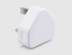 USB triangle charger 1A Gift white normal