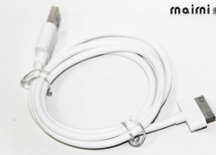Available on iphone4/4S ,Ipad 1/2/3 data cable Gift white normal
