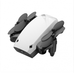 Mini Foldable Drones RC Camera Drone 3D Flip One-Key Return Headless Mode Altitude Hold Quadcopter white one size