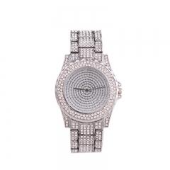New Fashion  Watches Women Luxury Brand Stainless Steel Bracelet watches Ladies Quartz Dress Watches silver