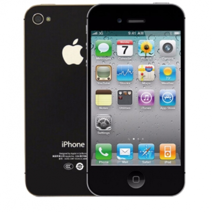 Refurbished Phone Original  iPhone 4,16GB,Authentic Guaranteed,Unlocked Smart Mobile black 8G