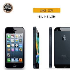 Refurbished Phone iPhone 5-4'',16G,Authentic Guaranteed, Smart Mobile Phone  For Wholesale black