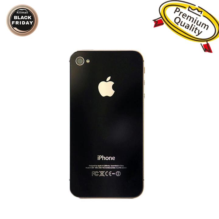 Refurbished Phone iPhone 4S-3.5'',16GB,Authentic Guaranteed,Unlocked Smart Mobile black
