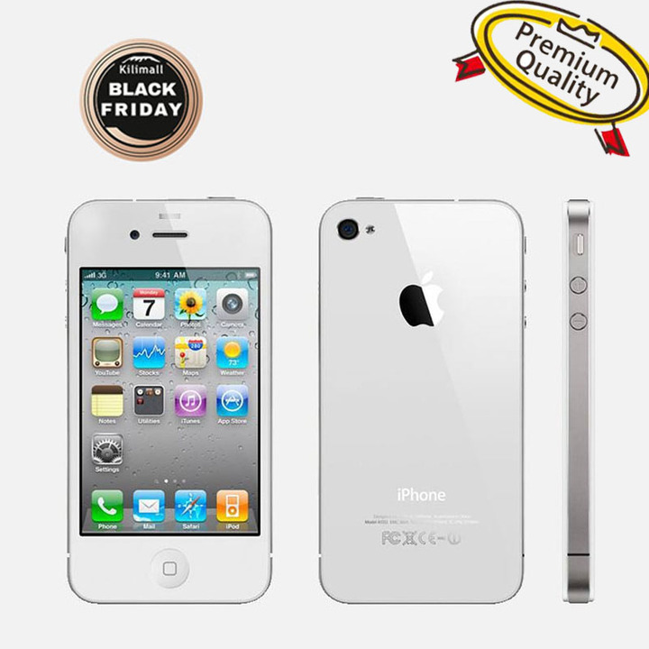 Refurbished Phone iPhone 4S-3.5'',16GB,Authentic Guaranteed,Unlocked Smart Mobile white