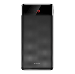 10000mAh Dual USB LCD Powerbank Slim Poverbank Portable Battery Pack Charger For iPhone android Black 10000mah