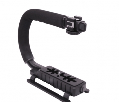 Ulanzi U-Grip Triple Shoe Mount Video Action Stabilizing Handle Grip Rig as picture as picture