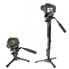 Lightweight 58in DSLR Camera Tripod Monopod Unipod for Canon Nikon Sony Photography as picture as picture