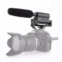 Takstar SGC-598 Condenser Microphone Interview Video Recording Camera Mic for Nikon Canon DSLR SGC-598 micorphone only as picture