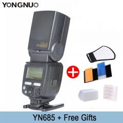 YONGNUO YN685C YN685N Wireless TTL Flash Speedlite 1/8000S Radio Slave YN685 for Canon for Nikon YN685C for Canon as picture