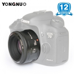 YONGNUO YN50mm F1.8 Large Aperture Camera Lens for Canon 800D 1200D DSLR Cameras 50mm for Canon