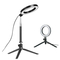 Dimmable LED Ring Light Photo Studio Video Light Annular Lamp with Tripod Makeup beauty LED+Extension+Tripod as shown