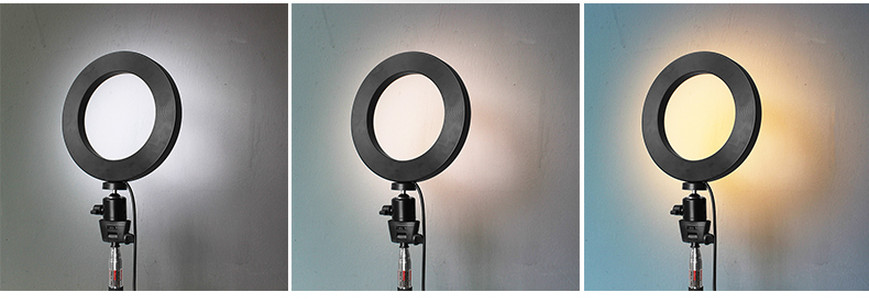 Dimmable LED Ring Light Photo Studio Video Light Annular Lamp with Tripod Makeup beauty LED+Tripod as shown 10