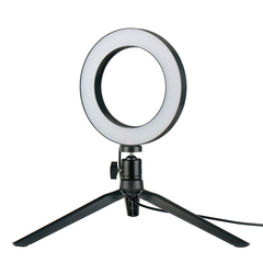 Dimmable LED Ring Light Photo Studio Video Light Annular Lamp with Tripod Makeup beauty