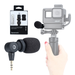 Saramonic SR-XM1 3.5mm Wireless Omnidirectional Microphone Video Mic for GoPro Hero 7 6 5 as shown as shown