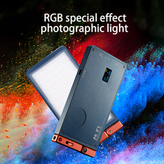 RGB LED Video Light Full Color Studio Vlog Photography Lighting for DSLR Cameras Accessories as picture as picture