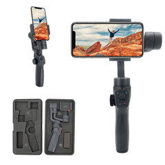 Eyemind 2 3-axis Vlog Handheld Smartphone Gimbal Stabilizer Handgrip for Gopro DJI Cameras only gimbal as picture