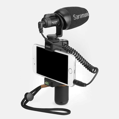 Saramonic Vmic mini Protable Video Microphone Universal Microfone for Smartphone and Cameras as picture as picture