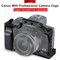 UURig Vlog Camera Cage Protective Case for Canon EOS M50 M5 DSLR Camera Accessories Frame Shell Only M50 Cage as picture