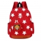 Cute Starts Printed Kids Bags Fashion Nylon Children Backpacks for Kindergarten School Backpacks RED
