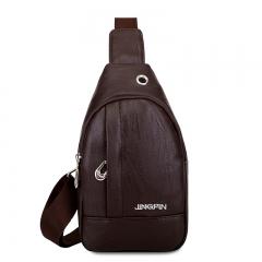 Men Women Sling Bag Men's Messenger Shoulder Chest Bag Women Bags 01 14*5*23 cm